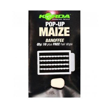 Korda Pop-Up Maize Banoffee wit karper imitatie visaas