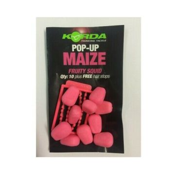 Korda Pop-Up Maize Fruity Squid roze karper imitatie visaas