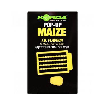 Korda Pop-Up Maize IB geel karper imitatie visaas
