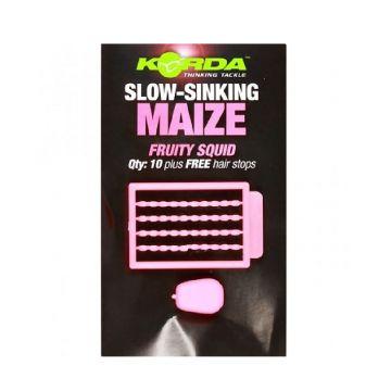 Korda Slow Sinking Maize Fruity Squid roze karper imitatie visaas