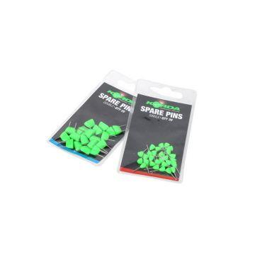 Korda Spare Pins groen - metaal karper rig accessoire Double