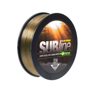 Korda Subline bruin karper visdraad 0.43mm 1000m