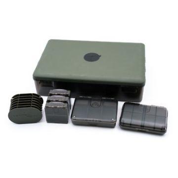 Korda Tackle Box Bundle zwart - groen karper visdoos