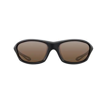 Korda Wraps zwart - bruin viszonnenbril