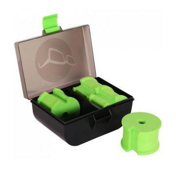 Korda Zig Box zwart - groen karper visdoos