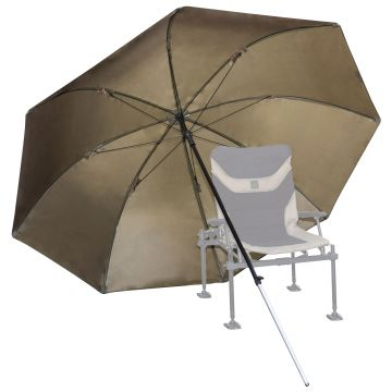 Korum Super Steel Brolly groen visparaplu 50 Inch