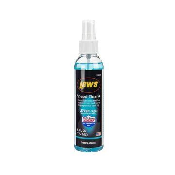 Lews Speed Cleanz clear - blauw visreel 177ml
