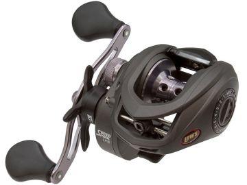 Lews Speed Spool LFS grijs - zwart visreel Left 100