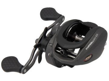 Lews SuperDuty GX3 Speed Spool grijs - zwart visreel Left 300