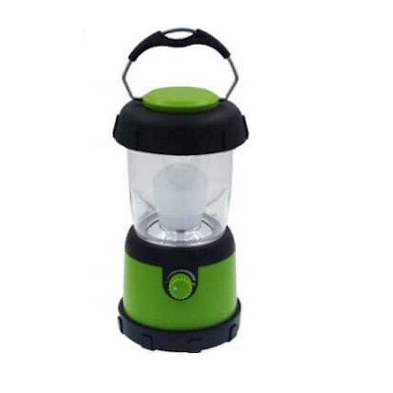 Macgyver Camping Lamp Dimmer Led 3W zwart - groen lamp