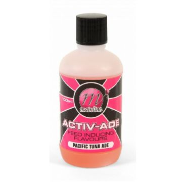 Mainline Activ-Ade Pacific Tuna clear - roze karperflavour witvisflavour 100ml