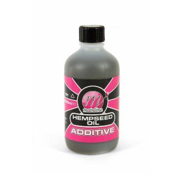 Mainline Additive Hempseed Oil bruin - zwart aas liquid 250ml