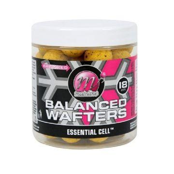 Mainline Balanced Wafters Essential Cell geel karper pop-up boilies 18mm 100g