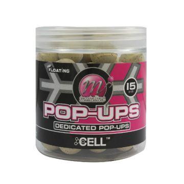 Mainline Decicated Base Mix Pop-Ups Cell bruin karper pop-up boilies 15mm 100g