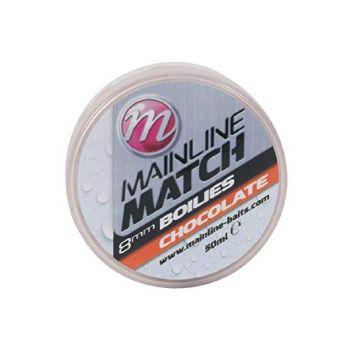 Mainline Match Boilies Chocolate oranje witvis mini-boilie 8mm 50ml