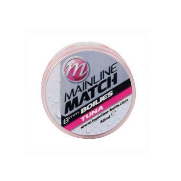 Mainline Match Boilies Tuna roze witvis mini-boilie 8mm 50ml