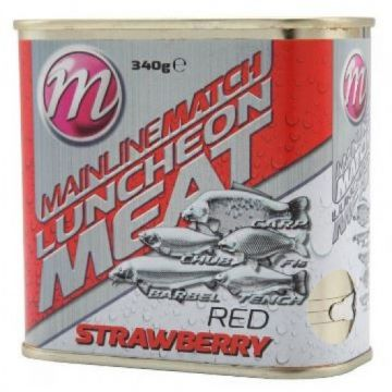 Mainline Match Luncheon Meat Strawberry rood vispellets 340g