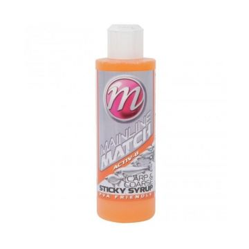 Mainline Match Sticky Syrup Activ-8 oranje aas liquid 250ml