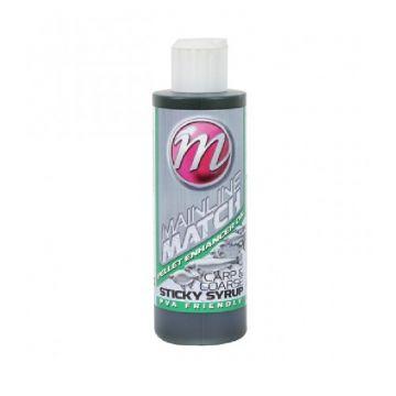 Mainline Match Sticky Syrup Pellet Enhancer Oil groen aas liquid 250ml