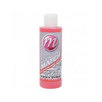 Mainline Match Sticky Syrup Strawberry Tutti rood aas liquid 250ml
