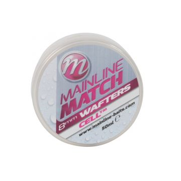 Mainline Match Wafters Cell wit witvis mini-boilie 8mm 50ml