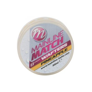 Mainline Match Wafters Pineapple geel witvis mini-boilie 8mm 50ml