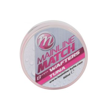 Mainline Match Wafters Tuna roze witvis mini-boilie 8mm 50ml