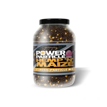 Mainline Power+ Particle Hemp N Maize geel - zwart partikel 3l