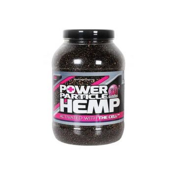 Mainline Power+ Particle Hemp With The Cell zwart partikel 3l