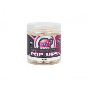 Mainline Special Edition Pop-Ups F-One wit karper pop-up boilies 15mm 100g