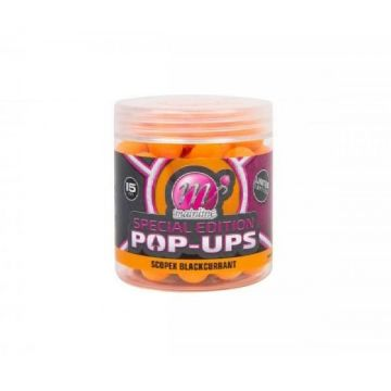 Mainline Special Edition Scopex Blackcurrant oranje karper pop-up boilies 15mm 100g