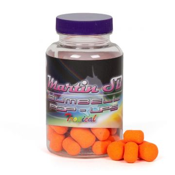 Martin Sb Fluor Dumbell Pop-Ups Tropical oranje karper pop-up boilies