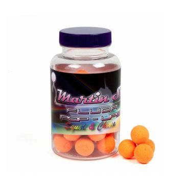 Martin Sb Fluor Pop-Ups Squid & Cheese oranje karper pop-up boilies