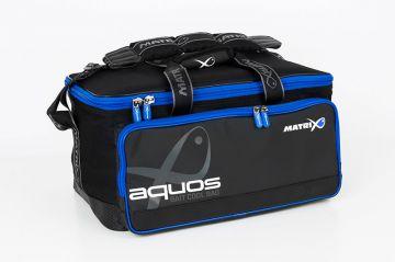Matrix Aquos Bait Cool Bag grijs - zwart - blauw foreltas witvistas 48x32x30cm
