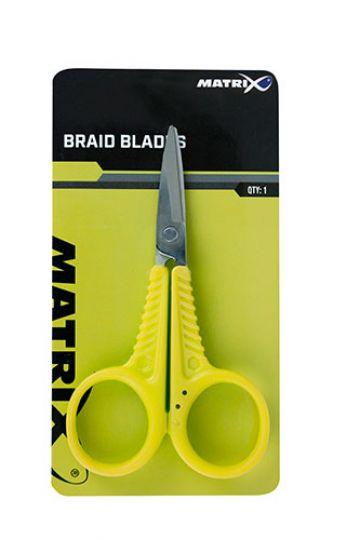 Matrix Braid Blades zilver - groen tang & schaar