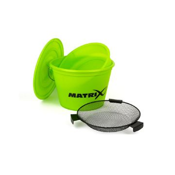 Matrix Bucket Set Lime limoen groen visemmer