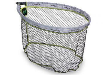 Matrix Carp Landing Net zwart - grijs - groen visschepnet 55x45mm