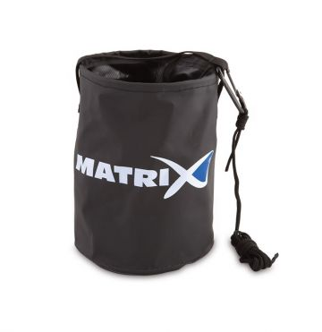 Matrix Collapsible Water Bucket grijs - wit - blauw foreltas witvistas