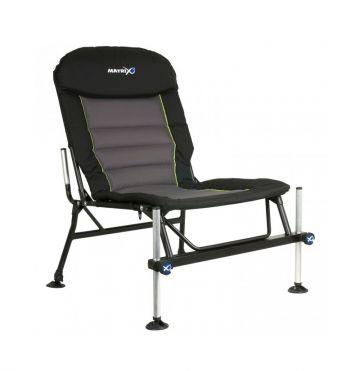 Matrix Deluxe Accessory Chair zwart - grijs - groen visstoel
