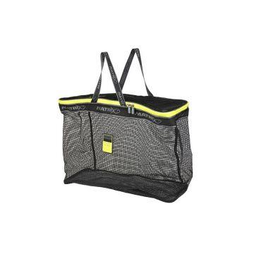 Matrix Dip & Dry Net Bag grijs - zwart - geel foreltas witvistas Large