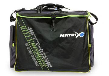 Matrix Ethos Pro Carryall 65L grijs - zwart - groen foreltas witvistas 64x40x52cm
