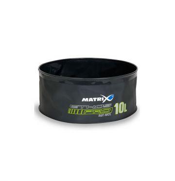 Matrix ETHOS Pro EVA Bait Bowl grijs - wit - blauw foreltas witvistas 10l