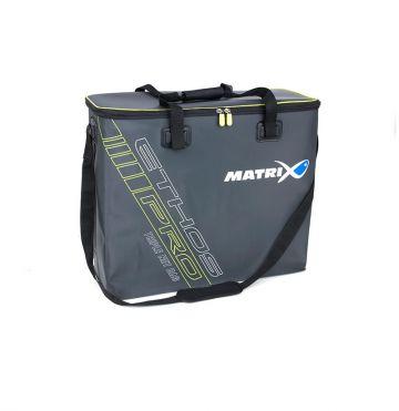 Matrix ETHOS Pro EVA Triple Net Bag grijs - wit - blauw foreltas witvistas