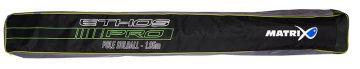 Matrix ETHOS Pro Pole Holdall zwart - grijs - groen visfoudraal 195x22x14cm