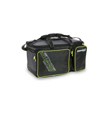 Matrix ETHOS Pro Tackle & Bait Bag grijs - wit - blauw foreltas witvistas