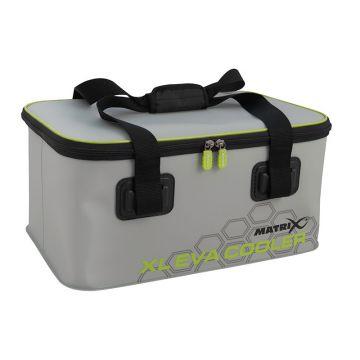 Matrix EVA Cooler Bag grijs - zwart - groen foreltas witvistas X-large
