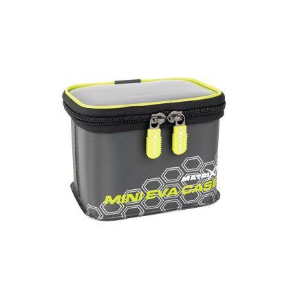 Matrix EVA Mini Case grijs - zwart - groen foreltas witvistas