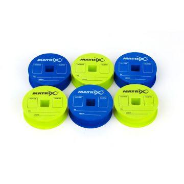 Matrix EVA Rig Discs & Pins blauw - groen onderlijn plankje
