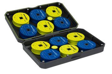 Matrix EVA Storage Case grijs - groen - blauw visdoos Small