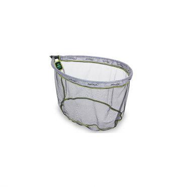 Matrix Fine Mesh Landing Nets zwart - grijs - groen visschepnet 50x40mm